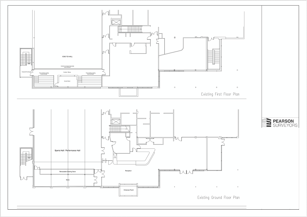 Pearson Surveyors Winsfors Lifestyle Centre Alterations Existing Plans 001 1