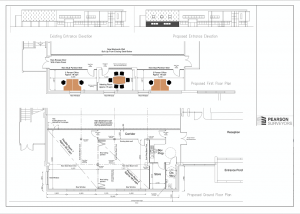 Pearson Surveyors Winsfors Lifestyle Centre Alterations Proposed Sketch Plans SK01 1