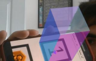 WebAR Cube