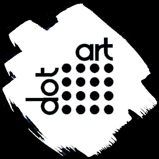 dot art logo white RGB