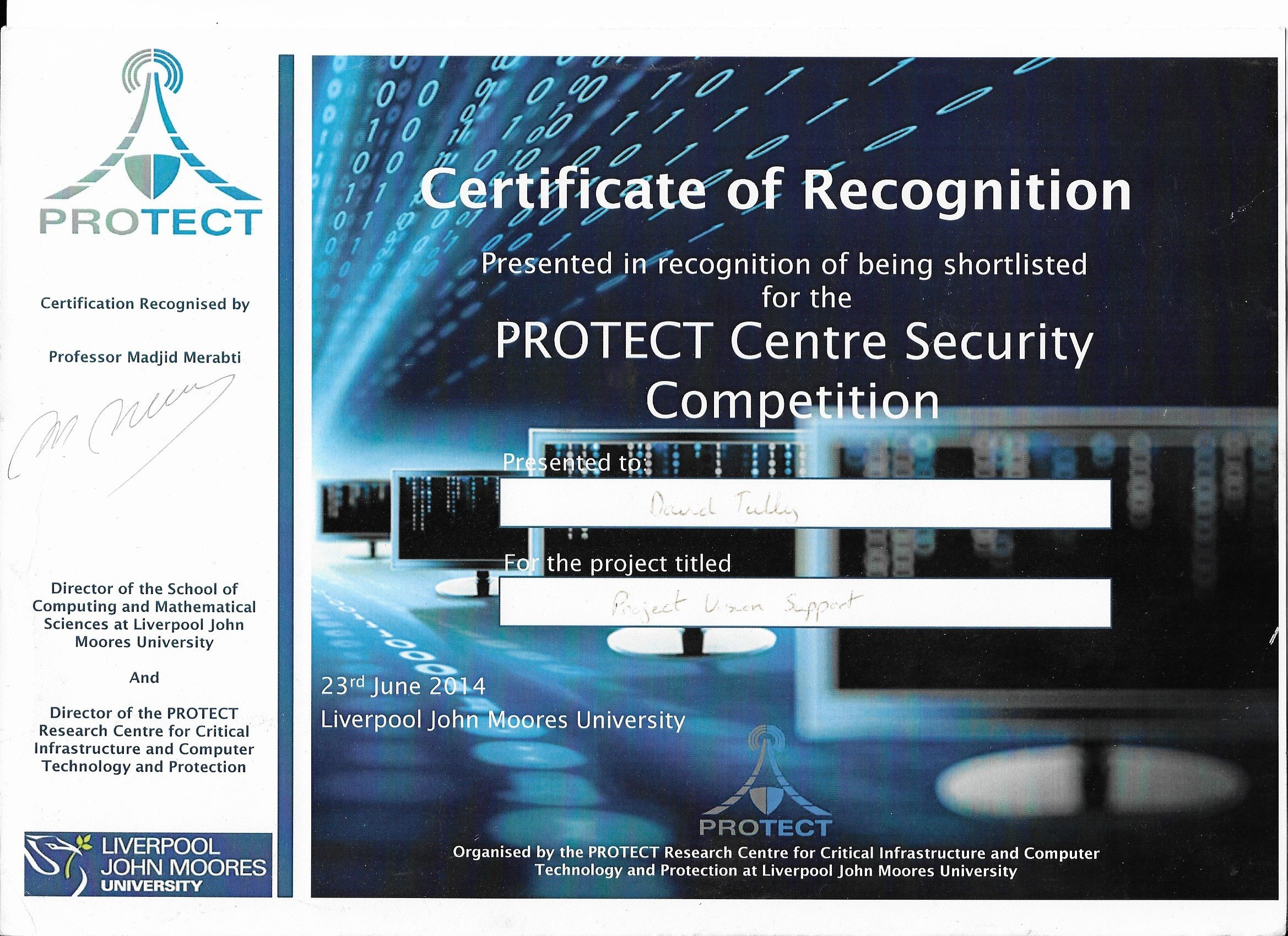 Protect Cert