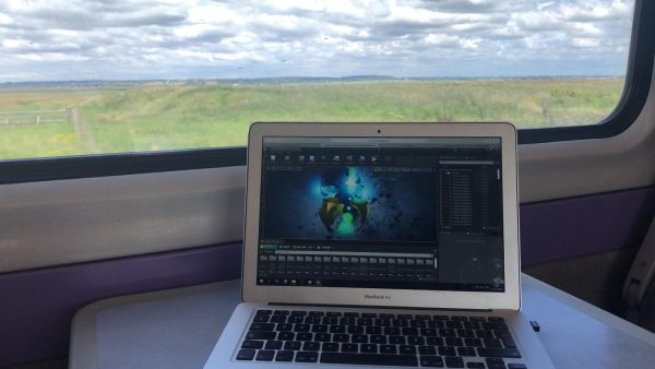 remote Desktop on train