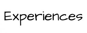 Experiences Text