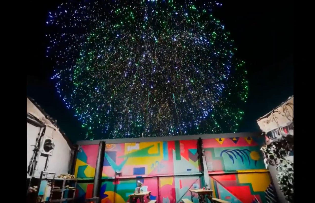 Fireworks 360 vr