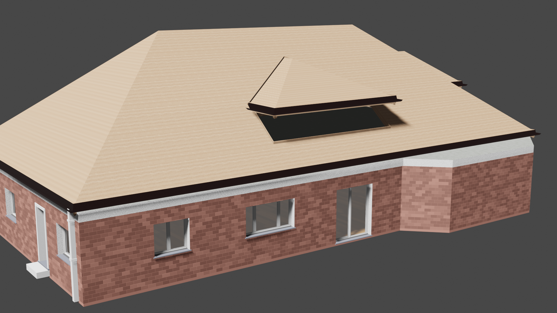 Archipack pro red brick building