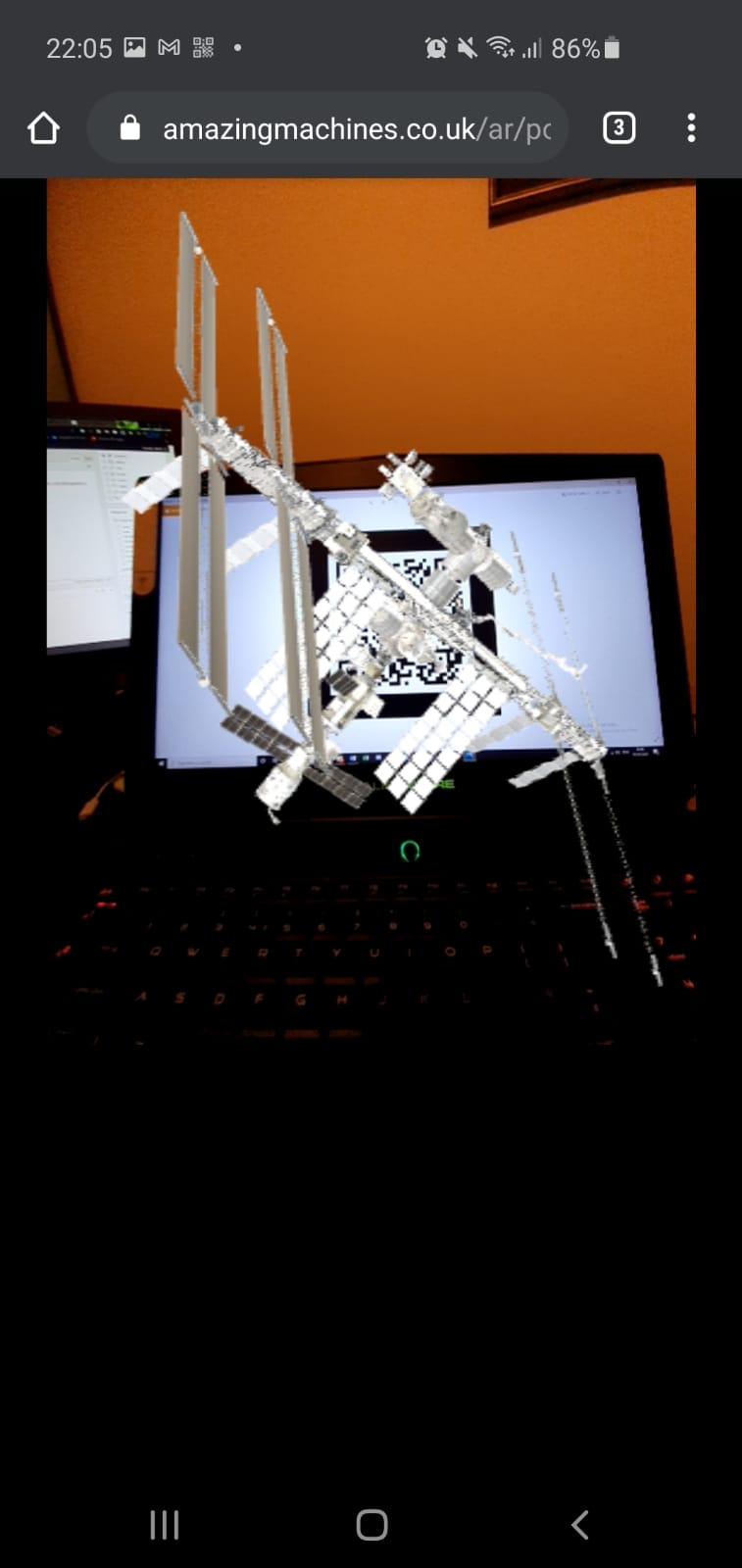 Web AR Spacestation