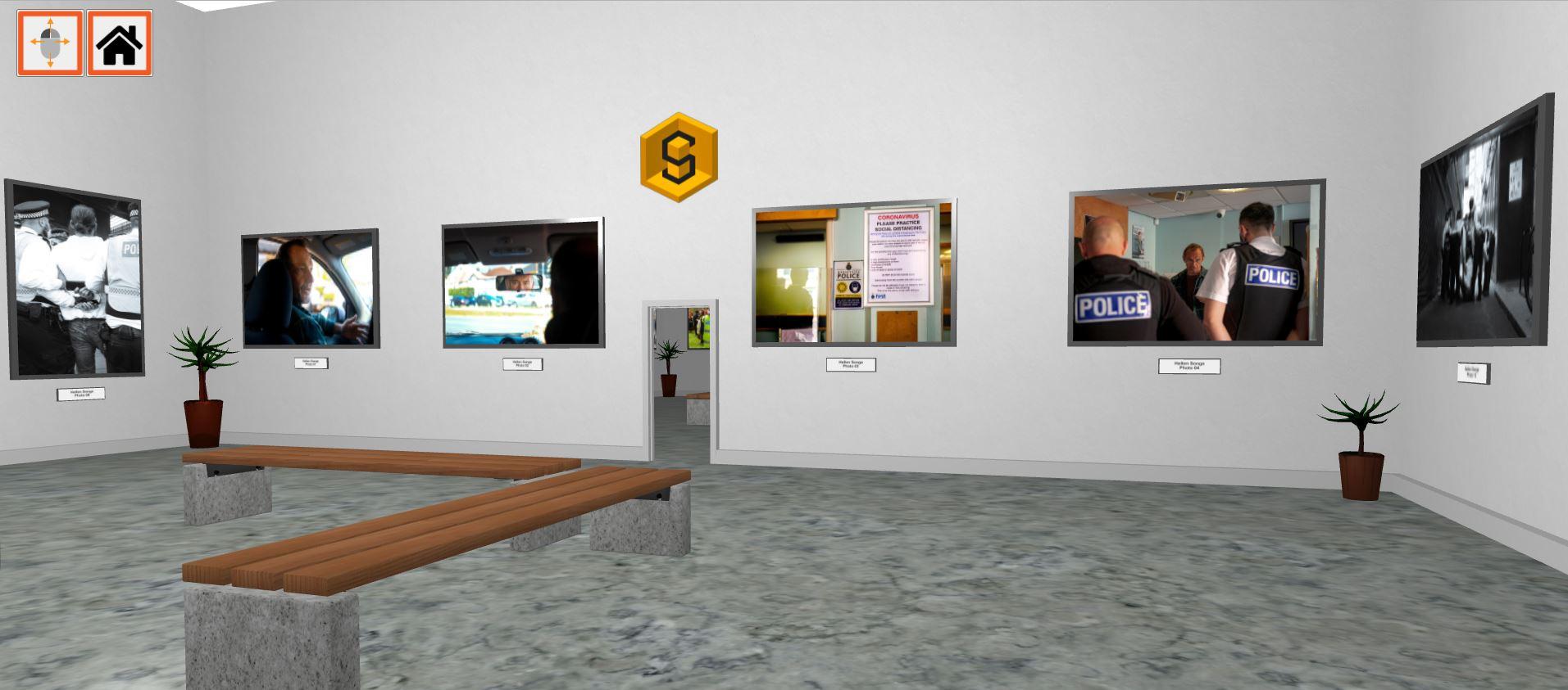 art gallery showing law