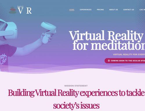 SpiritVR – Website